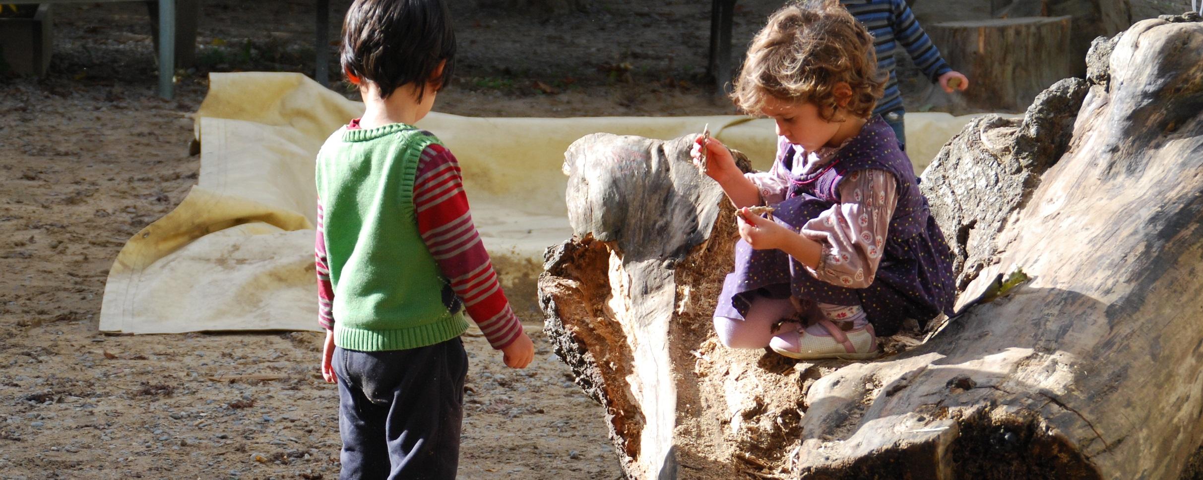 La vie au jardin d'enfants Steiner-Waldorf de Pau